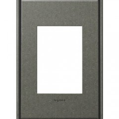Legrand AWC1G3BP4 Brushed Pewter Wall plates