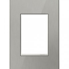 Legrand AWM1G3MS4 Brushed Stainless Wall plates