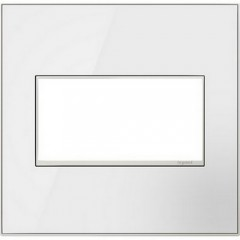 Legrand AWM2GMW4 Mirror White Wall plates