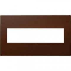 Legrand AWP4GRS4 Soft Touch Russet Wall plates