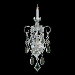 Crystorama 1041-PB-CL-MWP Polished Brass Traditional Crystal