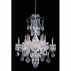 Crystorama 1045-CH-CL-MWP Polished Chrome Traditional Crystal