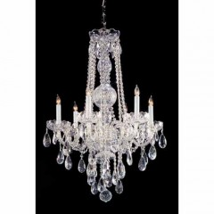 Crystorama 1105-CH-CL-SAQ Polished Chrome Traditional Crystal
