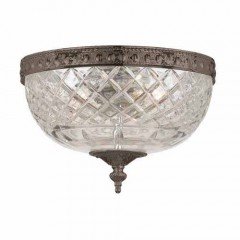 Crystorama 117-8-EB English Bronze Ceiling Mount