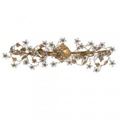 Crystorama 5307-GL Gold Leaf Paris Market