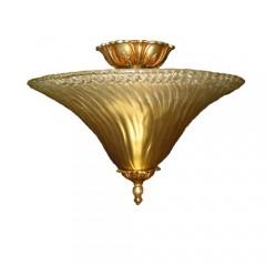 Crystorama 5673X-OB Gold Leaf Hot Deal