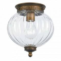 Crystorama 5780-AB Antique Brass Pendant
