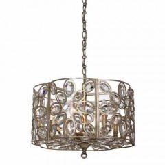 Crystorama 7586-DT Distressed Twilight Sterling
