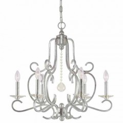 Crystorama 9346-OS Olde Silver Orleans