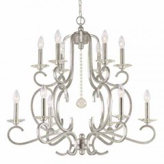 Crystorama 9349-OS Olde Silver Orleans