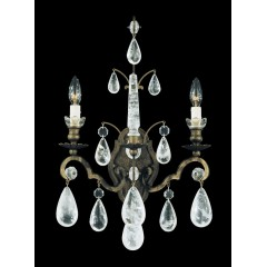 Schonbek 2461-47R Antique Pewter Versailles Rock Crystal