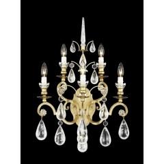 Schonbek 2463-23R Etruscan Gold Versailles Rock Crystal