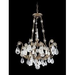 Schonbek 2486-22R Heirloom Gold Versailles Rock Crystal
