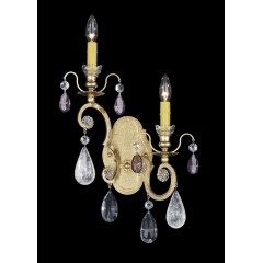 Schonbek 3557-22VC-AM Heirloom Gold Renaissance Rock Crystal