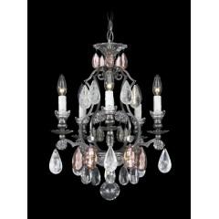 Schonbek 3569-47RC-OS Antique Pewter Renaissance Rock Crystal