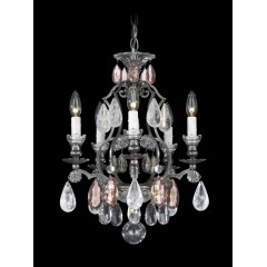Schonbek 3569-76CL Heirloom Bronze Renaissance Rock Crystal