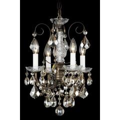 Schonbek 3648-48S Antique Silver New Orleans