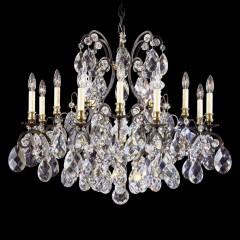 Schonbek 3790-22H Heirloom Gold Renaissance
