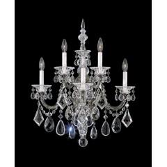 Schonbek 5003-48H Antique Silver La Scala