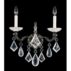 Schonbek 5401-23R Etruscan Gold La Scala Rock Crystal