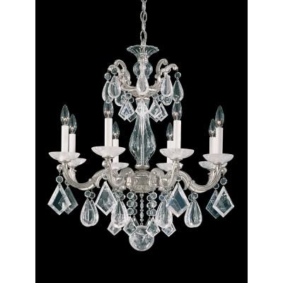 Schonbek 5473-48R Antique Silver La Scala Rock Crystal
