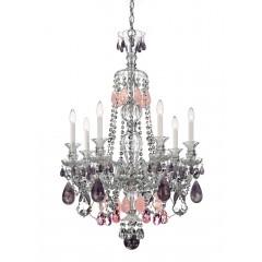 Schonbek 5506-40VC-AM Silver Hamilton Rock Crystal