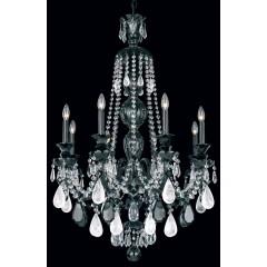 Schonbek 5507-40VC-AM Silver Hamilton Rock Crystal