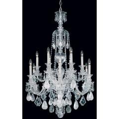 Schonbek 5508-40VC-AM Silver Hamilton Rock Crystal