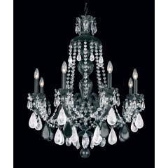 Schonbek 5537-40R Silver Hamilton Rock Crystal