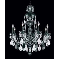 Schonbek 5537-40VC-AM Silver Hamilton Rock Crystal