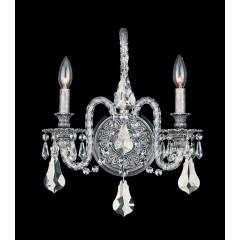 Schonbek 6302-48O Antique Silver Isabelle
