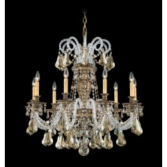 Schonbek 6309-22A Heirloom Gold Isabelle