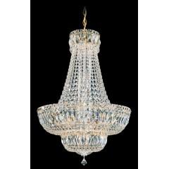 Schonbek 6616-40A SILVER Petit Crystal Deluxe