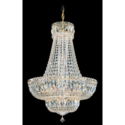 Schonbek 6616-40A SILVER Petit Crystal Deluxe