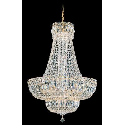 Schonbek 6616-40S SILVER Petit Crystal Deluxe
