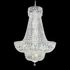 Schonbek 6618-40A SILVER Petit Crystal Deluxe