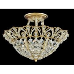 Schonbek 9841-23A Etruscan Gold Tiara
