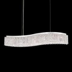 Schonbek REL33130-401A Stainless Steel Refrax LED