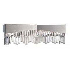 Schonbek RF2404-16A Brushed Stainless Steel Riviera