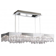 Schonbek RF2448-16S Brushed Stainless Steel Riviera