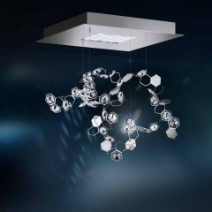 Schonbek SCY510N-SS1S Stainless Steel Crystalon