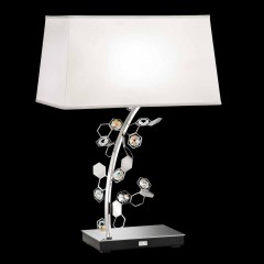 Schonbek SCY570N-SS1SAB Stainless Steel Crystalon Lamp