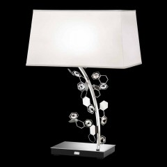 Schonbek SCY580N-SS1S Stainless Steel Crystalon Lamp