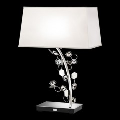 Schonbek SCY580N-SS1SAB Stainless Steel Crystalon Lamp