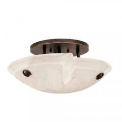 Kalco 4296ACFROST Antique Copper Tribecca