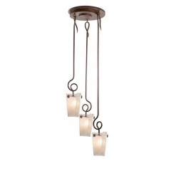 Kalco 4302ACFROST Antique Copper Tribecca