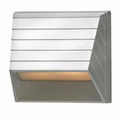Hinkley 1524MW-LED Matte White DECK SQUARE SCONCE LED