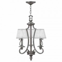 Hinkley 4243PL Polished Antique Nickel PLYMOUTH