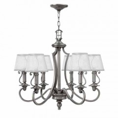 Hinkley 4246PL Polished Antique Nickel PLYMOUTH