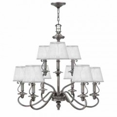 Hinkley 4248PL Polished Antique Nickel PLYMOUTH